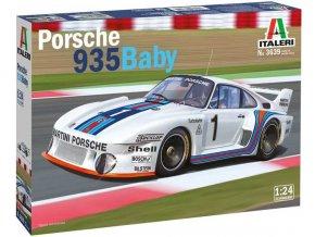 Italeri - Porsche 935 Baby, Model Kit 3639, 1/24