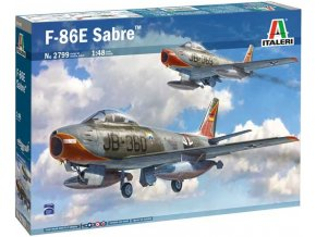 Italeri - North American F-86E Sabre, Model Kit 2799, 1/48