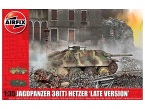 "Airfix - Sd.Kfz.138 Jagdpanzer 38(t) Hetzer ""Late Version"", Classic Kit A1353, 1/35"