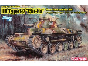"Academy - Type 97 ""Chi-Ha"" w/57mm Gun and New Hull, IJA, Model Kit 6875, 1/35"