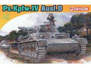 Dragon - Pz.Kpfw.IV Ausf.D, Model Kit 7530, 1/72