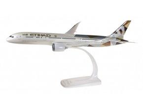 Herpa - Boeing B787-9, společnost Etihad Airways, Spojené Arabské Emiráty, 1/200