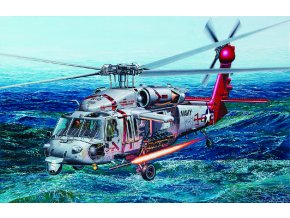 "Academy - Sikorsky SH-60S Seahawk, US NAVY, HSC-9 ""Tridents"", Model Kit 12120, 1/35"