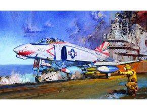 Academy McDonnell F-4B Phantom II, VF-111 SUNDOWNERS,  Model Kit 12232, 1/48