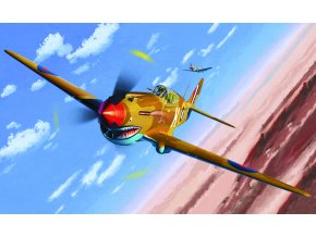 "Academy -  Curtiss Tomahawk IIB, ""Ace of African Front"", Model Kit 12235, 1/48"