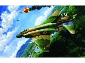 Academy - McDonnell F-4C Phantom II, USAF válka o Vietnamu, Model Kit 12294, 1/48
