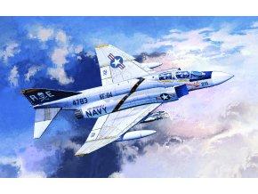"Academy- McDonnell F-4J Phantom II ""VF-84 JOLLY ROGERS"" , Model Kit 12305, 1/48"