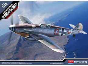 Academy - Messerschmitt Bf109G-6/G-2, Luftwaffe, JG27, Model Kit 12321, 1/48