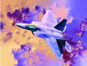 Academy - Lockheed Martin/Boeing F-22A Raptor, Model Kit 12423, 1/72