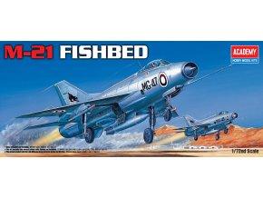 "Academy - Mikojan-Gurevič MiG-21 ""Fishbed"", Model Kit 12442, 1/72"