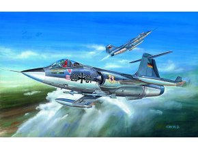 Academy - Lockheed F-104 G Starfighter, Model Kit 12443, 1/72
