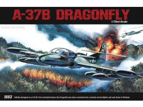 Academy - Cessna A-37B Dragonfly, Model Kit 12461, 1/72