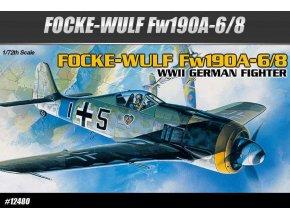 Academy - Focke-Wulf Fw 190A-6/8, Model Kit 12480, 1/72
