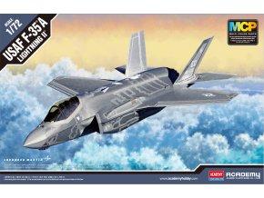 Academy - Lockheed Martin F-35A Lightning II MCP, Model Kit 12507, 1/72