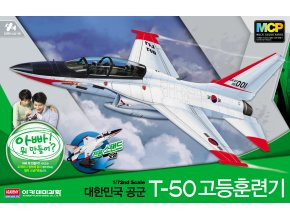 Academy - KAI T-50 Golden Eagle, ROKAF, MCP Model Kit 12519, 1/72
