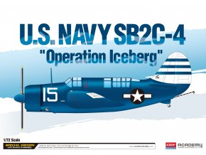 "Academy - Curtiss SB2C-4 Helldiver, US NAVY ""Operation Iceberg"", Model Kit 12545, 1/72"