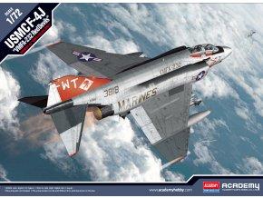 Academy- McDonnell F-4J Phantom II, USMC VMFA-232 Red Devils, Model Kit 12556, 1/72