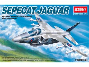 Academy - Sepecat Jaguar, Model Kit 12606, 1/144