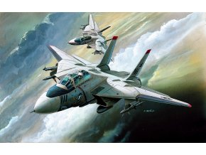 Academy - Grumman F-14 Tomcat, Model Kit 12608, 1/144
