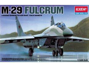 Academy - Mikojan-Gurevič MiG-29 Fulcrum, Model Kit 12615, 1/144