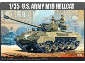 Academy - M18 Hellcat, US Army, Model Kit 13255, 1/35