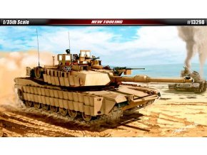Academy - M1A2 TUSK II, US Army, Model Kit 13298, 1/35