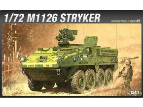 Academy - M1126 Stryker, Model Kit 13411, 1/72