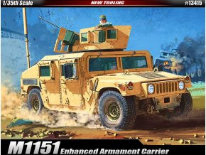 Academy - M1151 Enhanced Armament Carrier Hummer, Model Kit 13415, 1/35