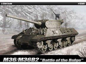 Academy - M36/M36B2 Jackson, Bitva v Ardenách, Model Kit 13501, 1/35