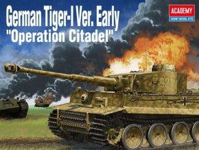 Academy - Pz.Kpfw.VI Tiger I Early Production, Model Kit 13509, 1/35