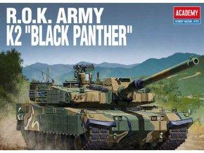 Academy - K2 Black Panther, Republic of Korea Army, Model Kit 13511, 1/35