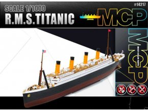 Academy - R.M.S. Titanic, Model Kit 14217, 1/1000