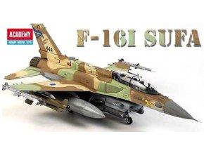 Academy - Lockheed Martin F-16I Soufa, Letectvo Izraelských obranných sil, Model Kit 12105, 1/35