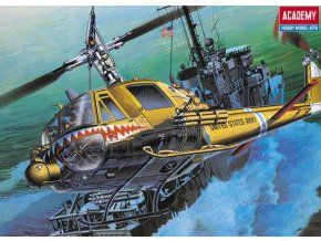 Academy - Bell UH-1C FROG, US ARMY, Model Kit 12112, 1/35