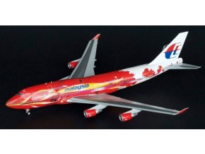 Blue Box - Boeing  B 747-4H6, dopravce Malaysia Airlines, Malajsie, 1/200