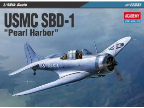 "Academy -  Douglas SBD-1 Dauntless, USMC ""Pearl Harbor"", Model Kit 12331, 1/48"