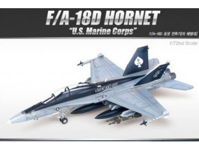 Academy - Boeing F/A-18D Hornet, US MARINES, Model Kit 12422, 1/72