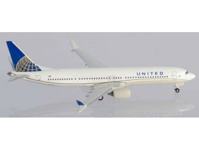 Herpa - Boeing B737-9MAX, dopravce United Airlines, USA, 1/500