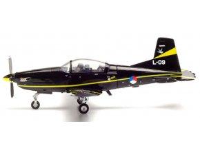 Herpa - Pilatus PC-7 Turbo Trainer, nizozemské letectvo, 1/72