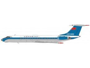 Panda Model - Tupolev Tu-134A, spoelčnost Aeroflot, Sovětský svaz, 1/400
