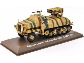 Atlas Models - Sd.Kfz.4/1 15 cm Panzerwerfer 42 auf Maultier, Wehrmacht, 1/43