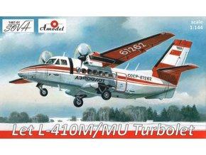 A-Model - Let L-410 M/MU, Turbolet, 1/144