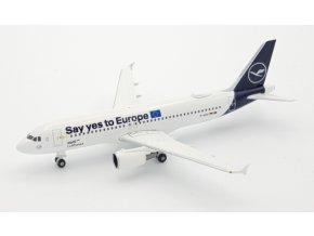 Herpa - Airbus A320-214, společnost Lufthansa, Německo, 1/500
