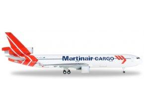 Herpa - Douglas MD-11, dopravce Martinair Cargo, Nizozemí, 1/500