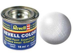 Revell - Barva emailová 14ml - č. 99 metalická hliníková (aluminium  metallic), 32199