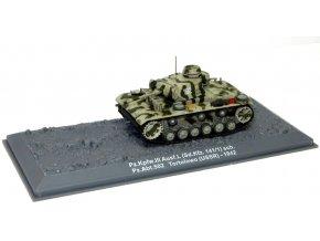 Altaya - Pz.Kpfw.III Ausf.L, Pz.Abt.502, SSSR. Tortolowo, 1942, 1/72