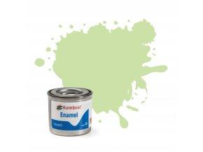 Humbrol - barva emailová 14ml - No 36 Pastel Green - Matt, AA0036