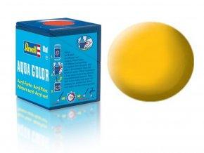 Revell - Barva akrylová 18 ml - č. 15 matná žlutá (yellow mat), 36115
