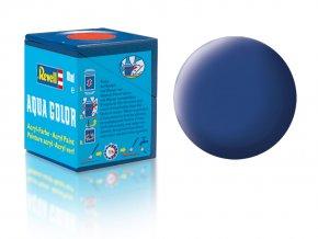 Revell - Barva akrylová 18 ml - matná modrá (blue mat), 36156