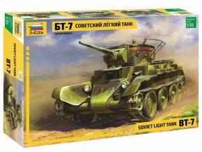 Zvezda - BT-7, Model Kit 3545, 1/35